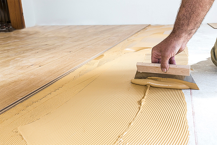 Floor Coverings Helios Kemostik, What Glue To Use On Laminate Flooring